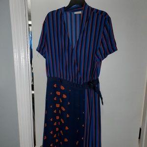 Eva Mendes - NY&Co Wrap Dress